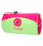 Green N Pink Duffle Bag