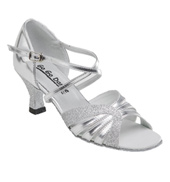 Ladies Latin/Rhythm Ballroom Shoe w/2.5 Inch Heels