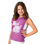 Girls Blood, Sweat, & Chalk Tank Top
