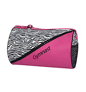 Zebra Gymnast Duffle Bag