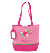 Hearts n Flowers Dance Tote