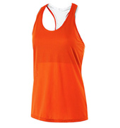 Ladies Maze Mesh Tank Top