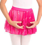 Child Faux Wrap Skirt