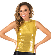 Adult Sequin Tank Top