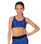 Child Sequin Bra Top