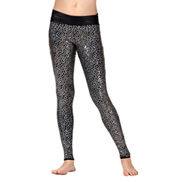 Girls Sequin High Waist Leggings