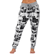 Adult NY Sights Light Weight Fleece Harem Pant