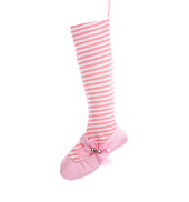 Ballet Shoe Holiday Stocking