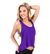 Adult Relaxed Fit Hi-Lo Tank Top