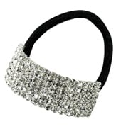 Crystal Cuff Ponytail Binders Small
