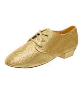 Adult Cabaret Glittery Lace Up Jazz Shoe