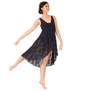 Adult Sequin Tank Lyrical Dress