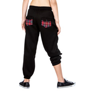 Child Plaid Pocket Sweatpant
