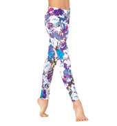 Girls Sublimated Ankle Leggings
