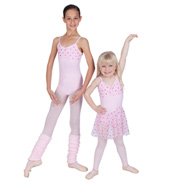 Child Camisole Leotard w/Hologram Dots