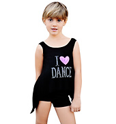 Child I Love Dance Tank Top