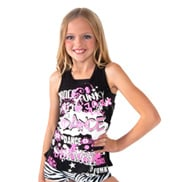 Girls Racerback Dance Tank