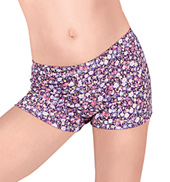 Girls Floral Dance Shorts
