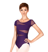 Adult Avera Short Sleeve Leotard