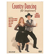 Country Dancing for Beginners with Teresa Mason DVD