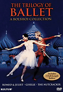 Trilogy Of Ballet: A Bolshoi Collection DVD