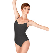 Adult Elena Overlap Neck Camisole Leotard