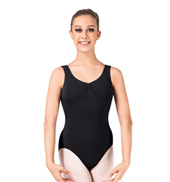 Gathered Bodice Tank Leotard