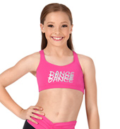 Child Dance Tank Bra Top