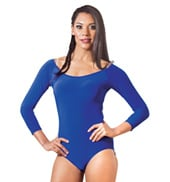 Adult 3/4 Sleeve Ballroom Bodysuit