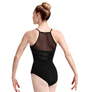 Adult Hila Spliced Back Mesh Camisole Leotard
