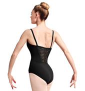 Adult Jaron Spliced Twist Back Camisole Leotard