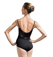 Adult Faux Leather Henryka Camisole Leotard