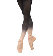 Adult Ombre Opaque Footed Tights