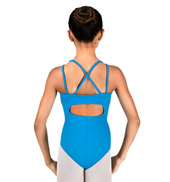 Girls Double Strap Camisole Leotard