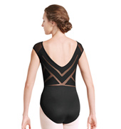 Adult Daya Sunray Back Short Sleeve Leotard