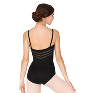 Adult Geetha Sunray Panel Camisole Leotard