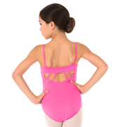 Girls Cool Stella Strappy Back Camisole Leotard