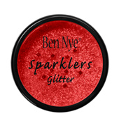 Fire Red Sparklers Glitter .5oz