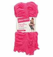 Adult/Girls Bubblegum Ruffle Legwarmers