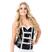 Pleather Corset Top