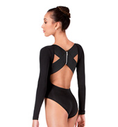 Long Sleeve X-Back Leotard
