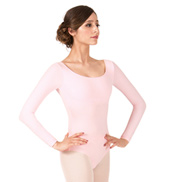Adult Brushed Cotton Long Sleeve Dance Leotard