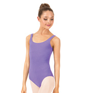 Adult Brushed Cotton Tank Dance Leotard