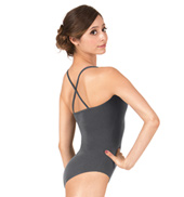 Adult Brushed Cotton X-Back Camisole Dance Leotard