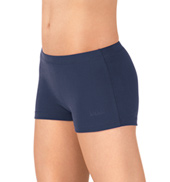 Adult High Cut Brushed Cotton Dance Shorts
