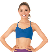 Adult Brushed Cotton Racerback Camisole Dance Bra Top