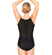 Adult Jacquard Stripe Camisole Leotard