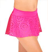 Girls Pull-On Daisy Skirt