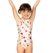 Child and Toddler Boatneck Tank Gymnastics Leotard