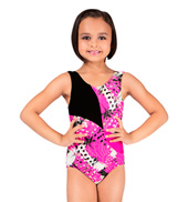 Girls Pinwheel Tank Leotard